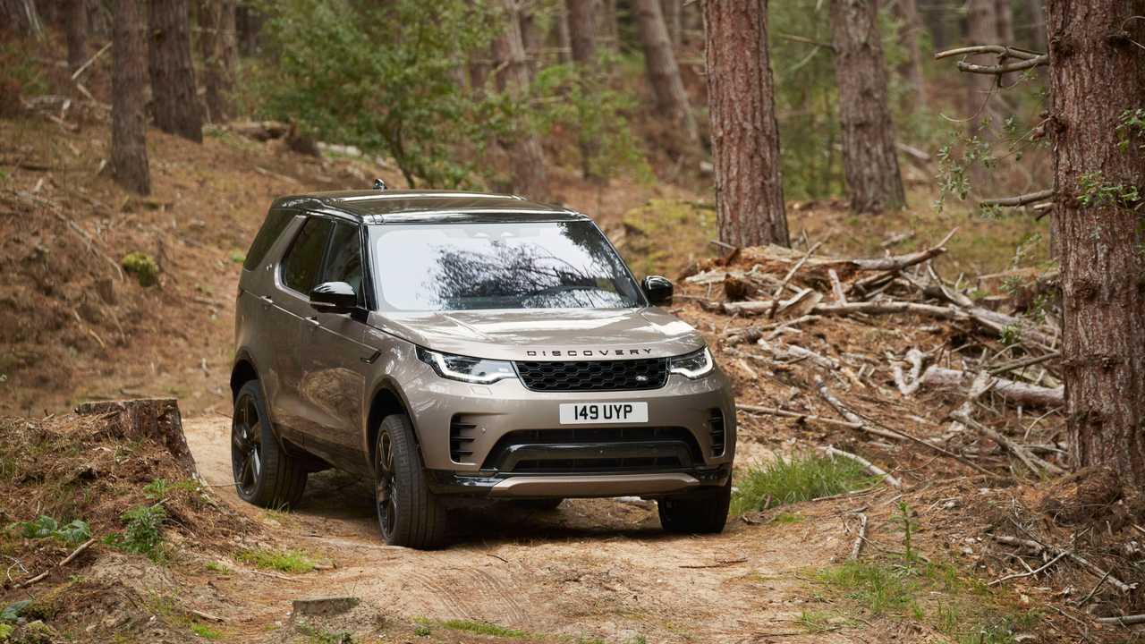 Makyajlı 2021 Land Rover Discovery