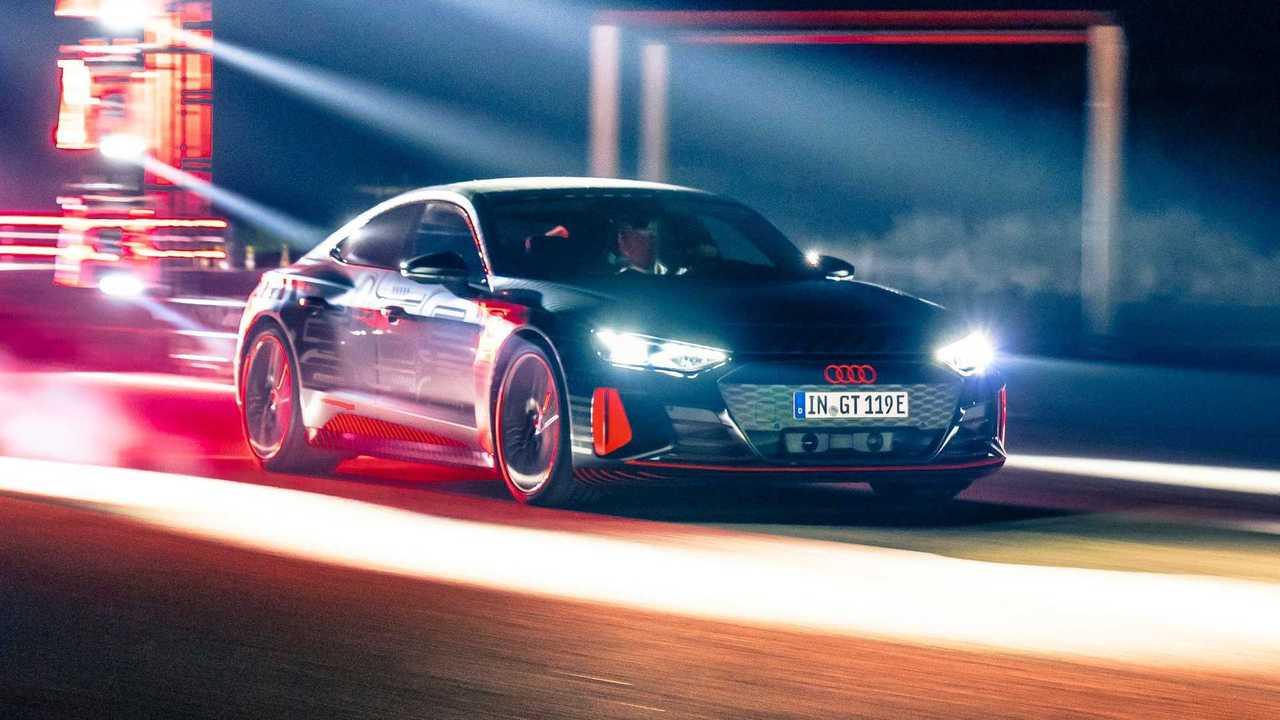 Audi RS E-Tron GT Prototype Vehicle
