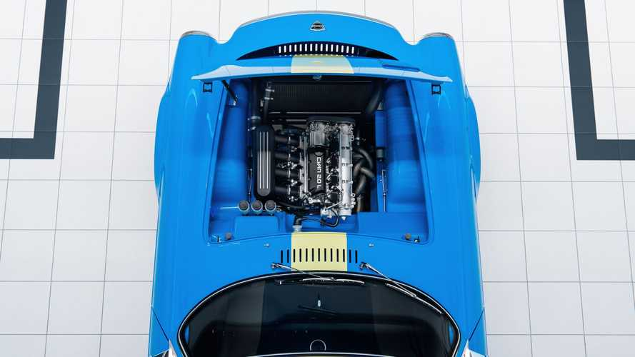 Volvo P1800 Cyan Reveals Its Gorgeous Engine Bay, Minimalist Interior