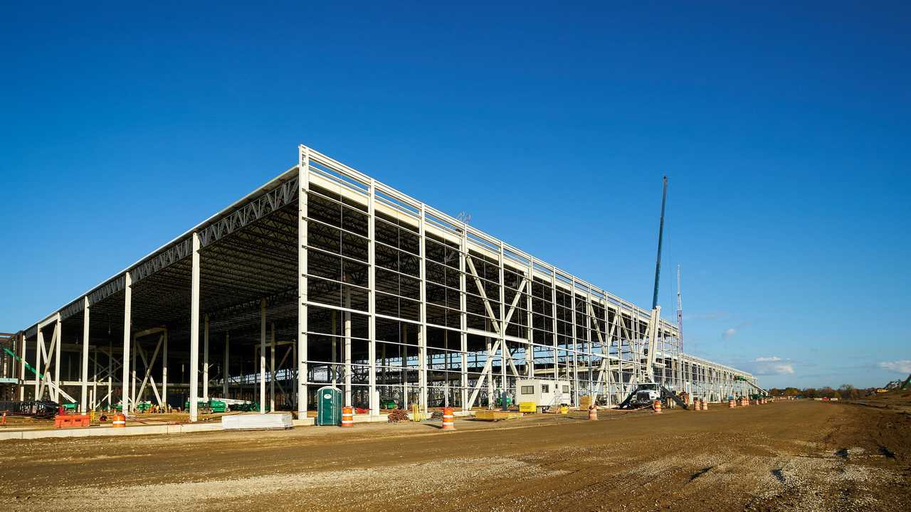 Ultium Cells LLC Battery Plant in Lordstown, Ohio