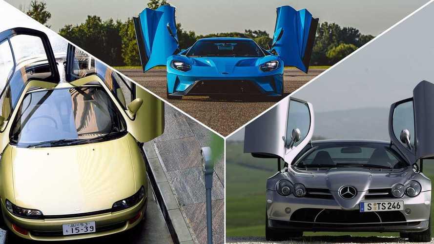 10 крутых автомобилей с дверями типа «крыло бабочки»