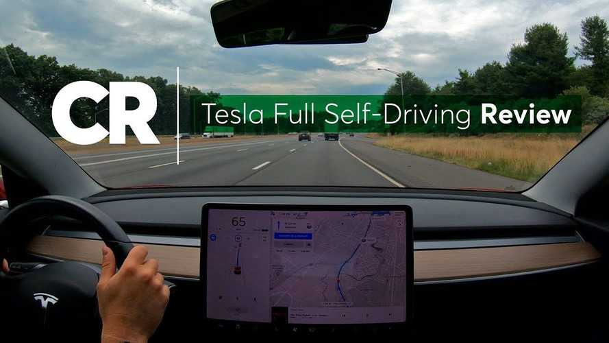 Watch Tesla Full Self-Driving Review By Consumer Reports
