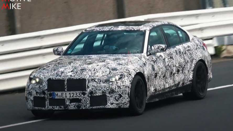 2021 BMW M3 Spied In Action During Last-Minute Nurburgring Testing