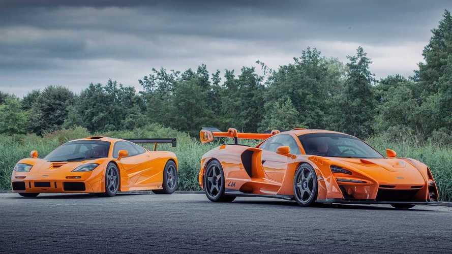 McLaren представил Senna в стиле F1 LM. Оранжевый, конечно