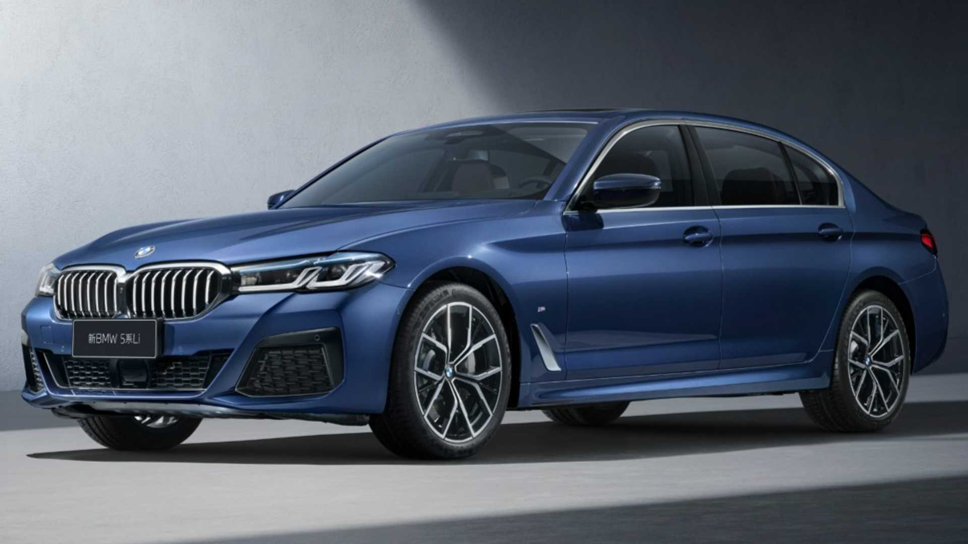 2021 BMW 5 Series Stretches Out In China With Long Wheelbase - Motor1.com
