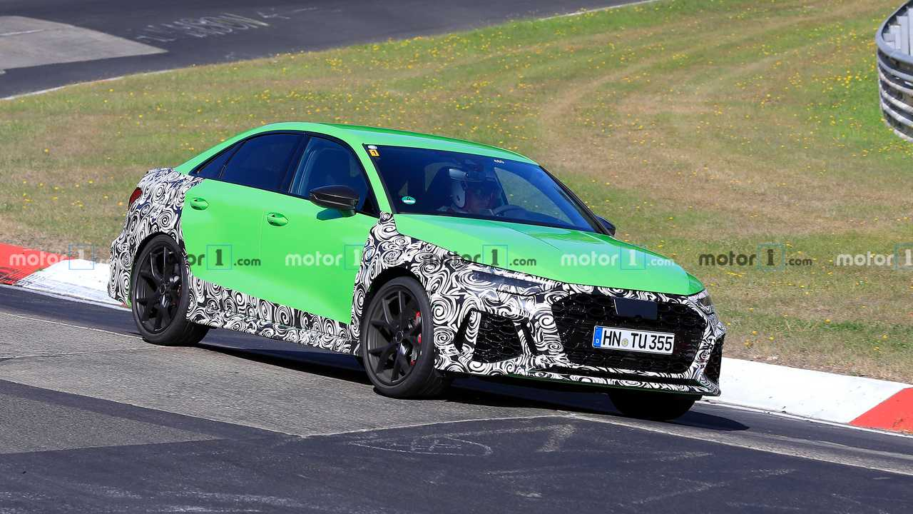Photo espion Audi RS 3 Berline