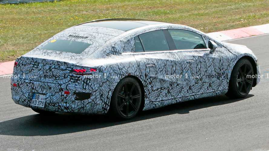 Mercedes EQS spied reminding us it will technically be a hatchback