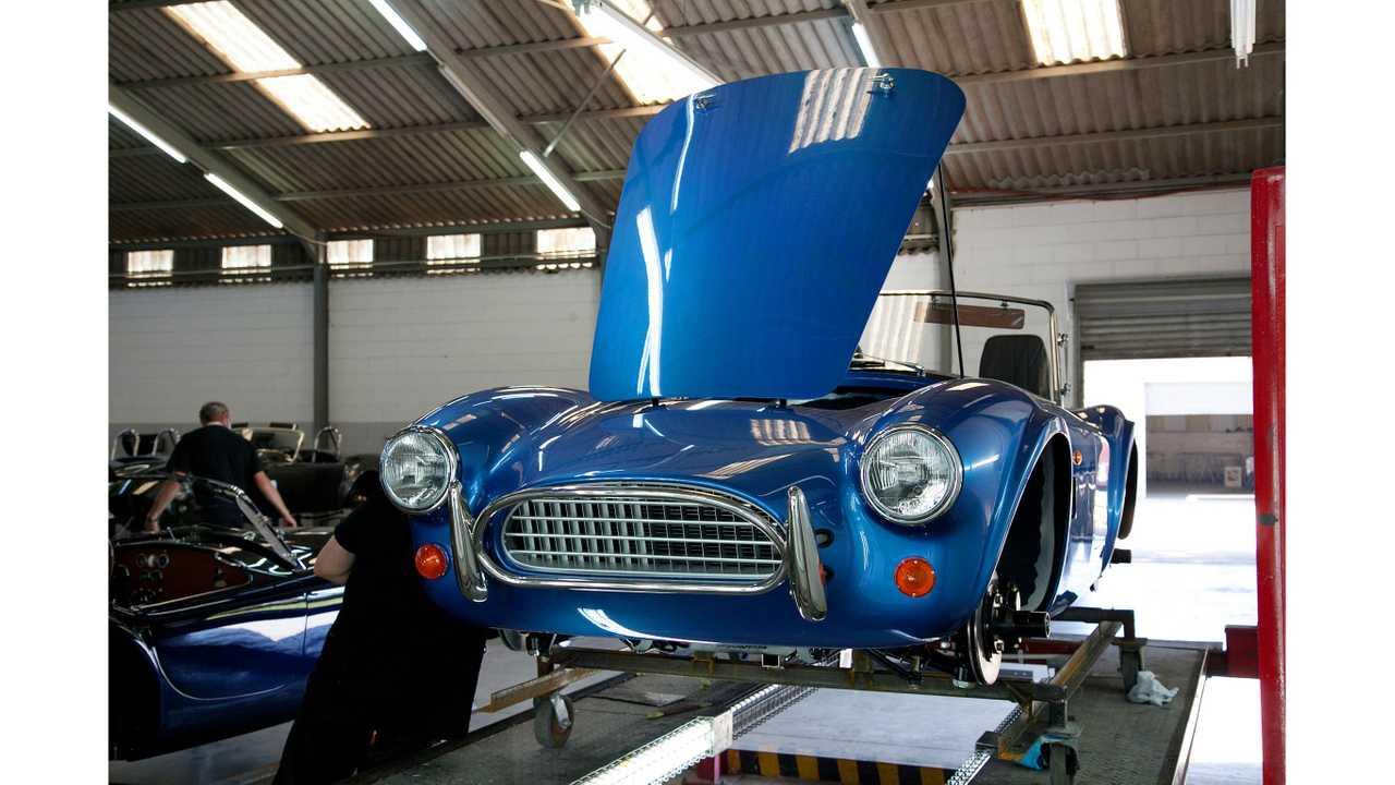 AC Cobras bound for Britain as EVs