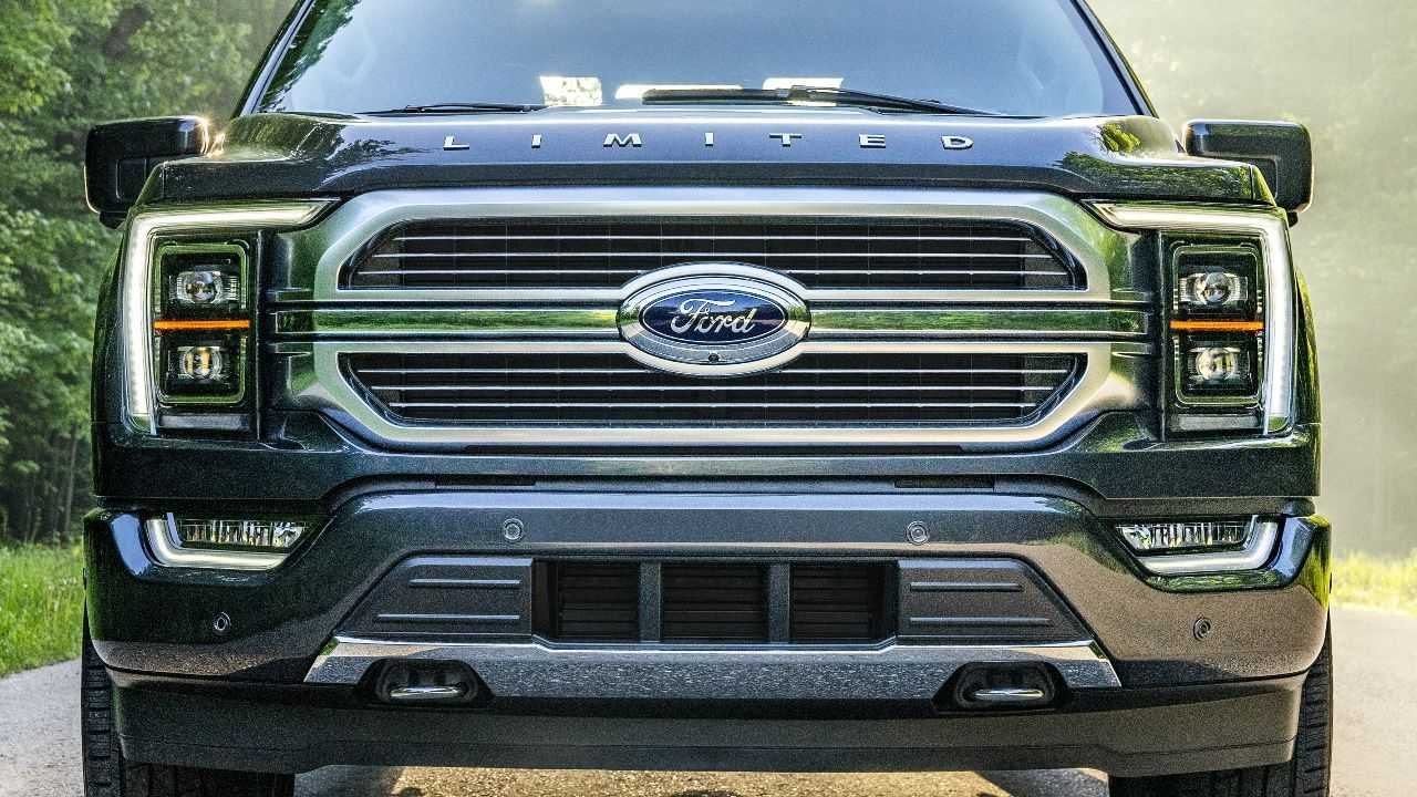 Ford F-150 EV Will Have A Massive Front Light Bar To Show It Arrived