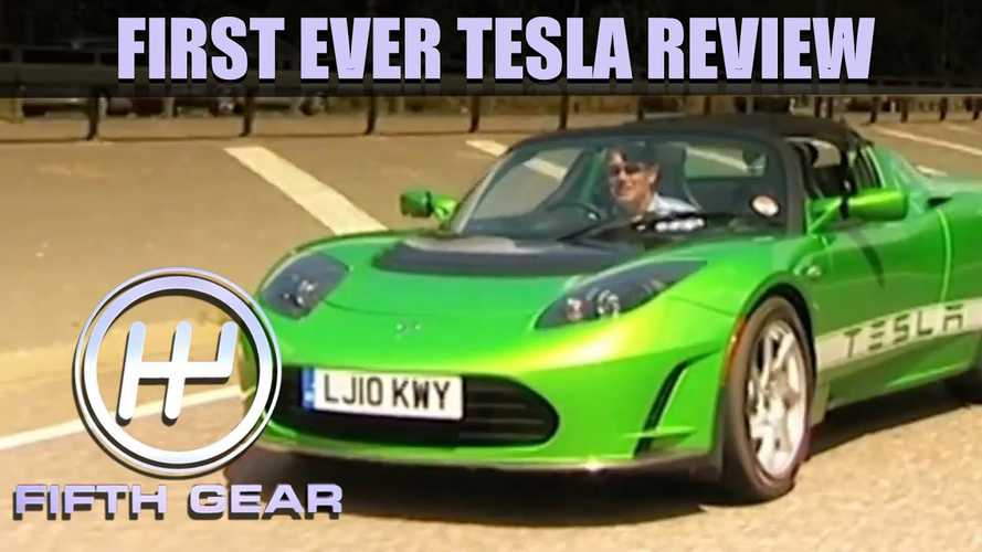 Classic Tesla Roadster Review By Fifth Gear Is Refreshingly Honest