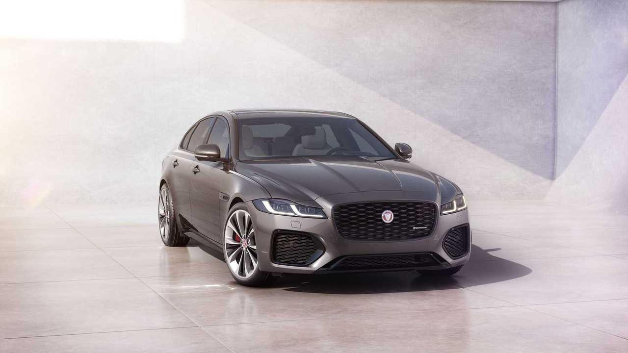 2021 Jaguar XF Anteriore