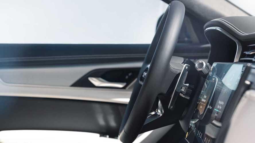 Volante interno 2021 Jaguar XF   Foto Motor1.com