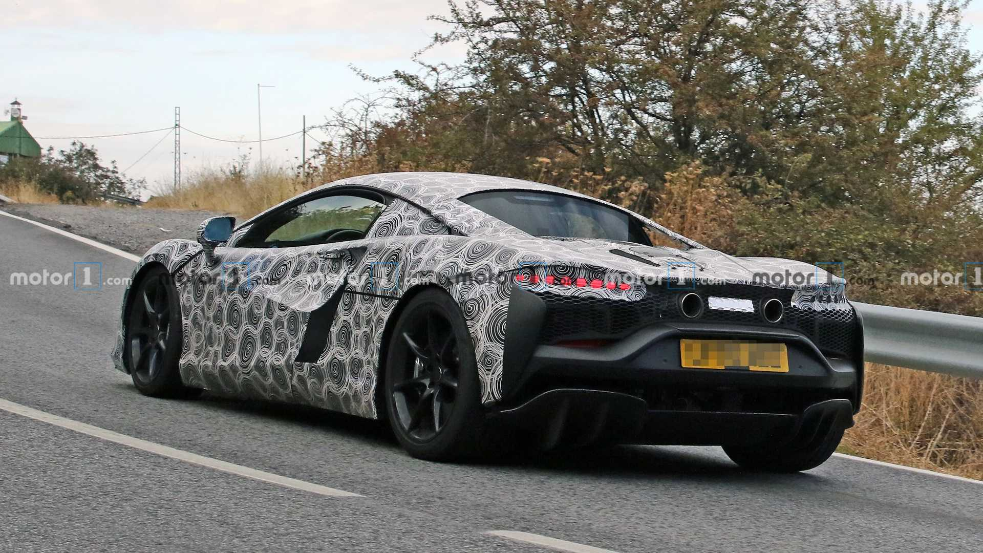 McLaren Hybrid Supercar Spy Photos