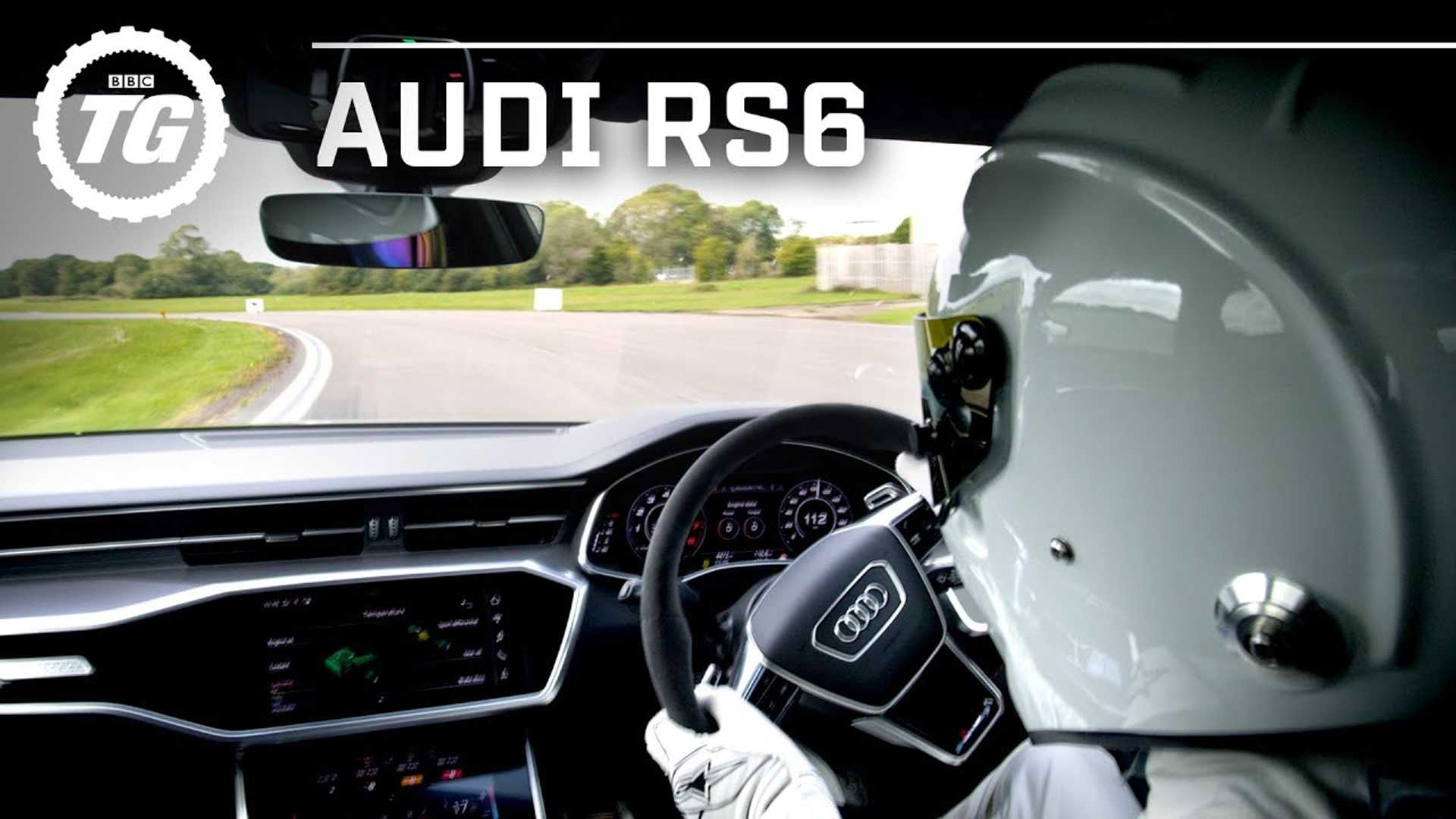 See The Stig Tame The Audi RS6 Avant Around The Top Gear Test Track - Motor1