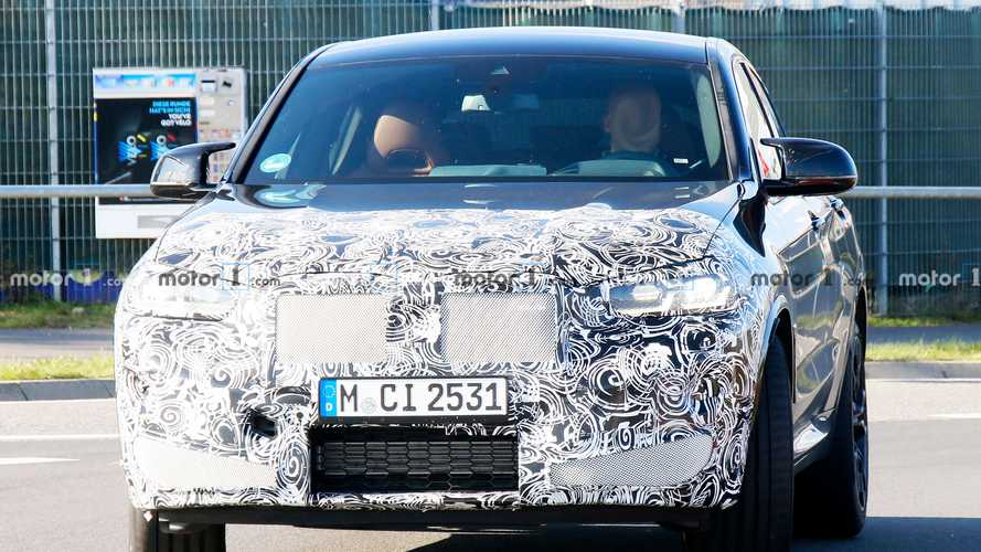BMW X4 M Facelift Spy Photos