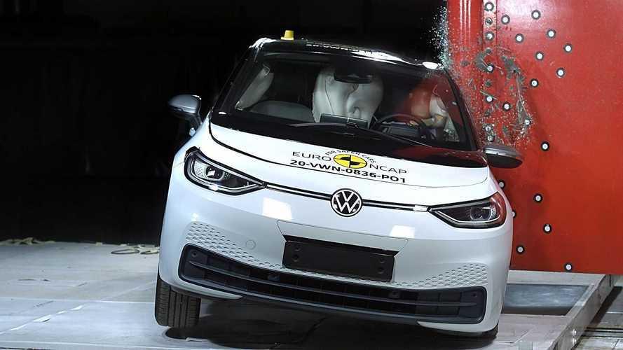 Volkswagen ID.3 tem 5 estrelas em teste de impacto do Euro NCAP