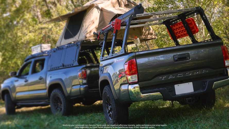 Toyota Teases TRD Sport Trailer That's Made From A Tacoma