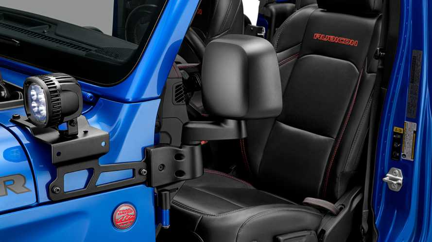 Mopar Introduces Jeep Wrangler Mirrors For When The Doors Come Off