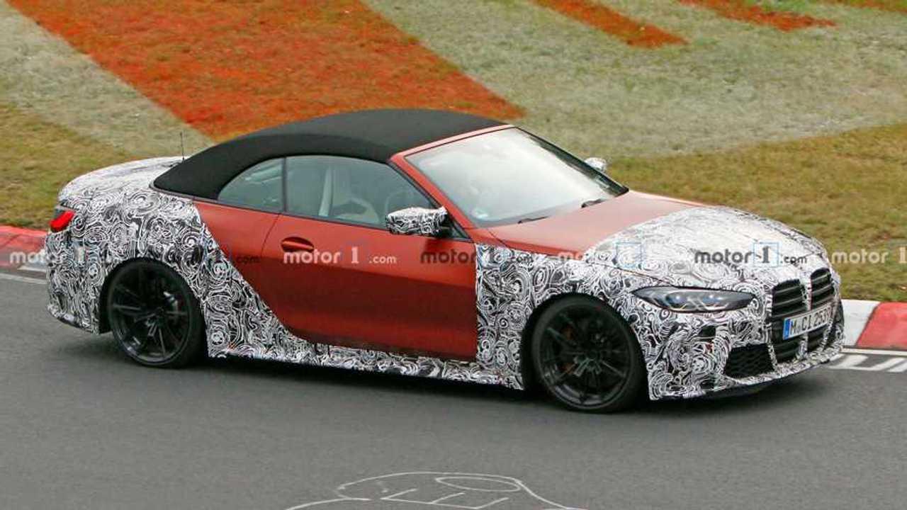 2021 BMW M4 Cabrio casus fotoğraf