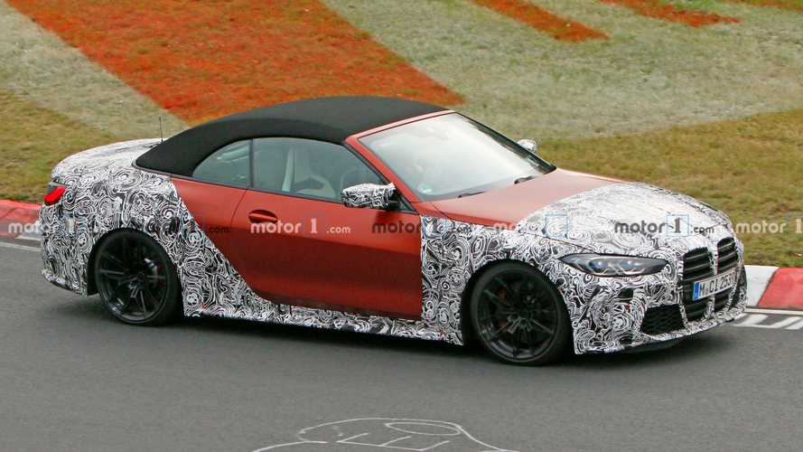 BMW M4 Convertible spied on the Nurburgring
