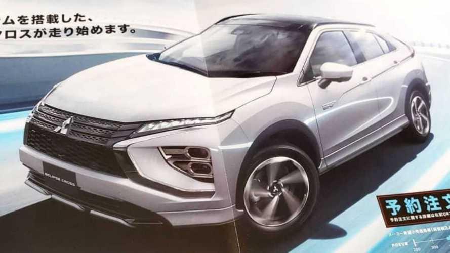 Novo Mitsubishi Eclipse Cross 2022 vaza e confirma fim da traseira dividida
