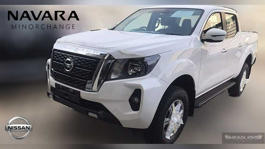 Vazou! Nova Nissan Frontier 2021 exibe dianteira da Titan americana