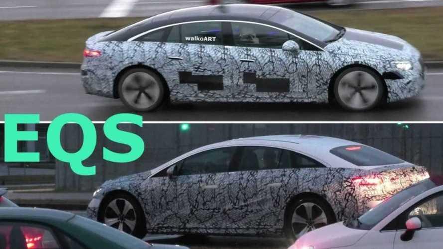 Vidéo - La Mercedes-Benz EQS se dévêt avant sa sortie