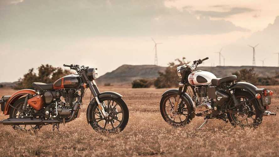 The Royal Enfield Classic 350 Gets Two New Colors
