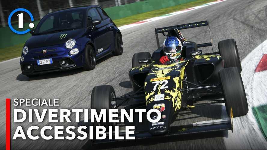 Ecco cosa si prova a guidare una Formula 4 Abarth a Monza