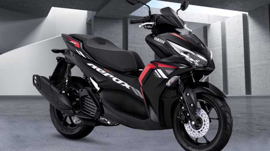 2021 Yamaha Aerox Set To Take The Asian Market By Storm