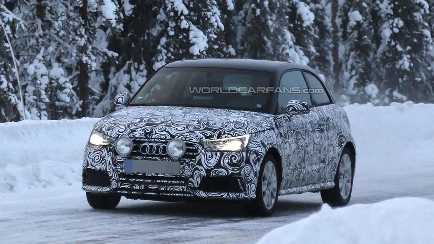 2014 Audi S1 spied cold weather testing, could debut in Geneva