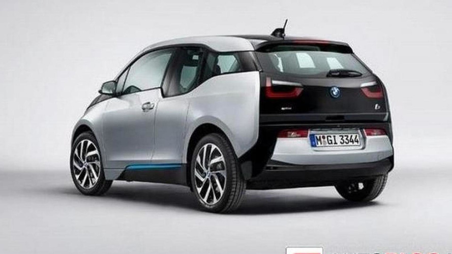 2014 BMW i3 leaks to the web