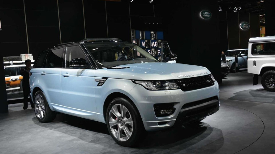Range Rover Sport Hybrid makes public debut in Frankfurt