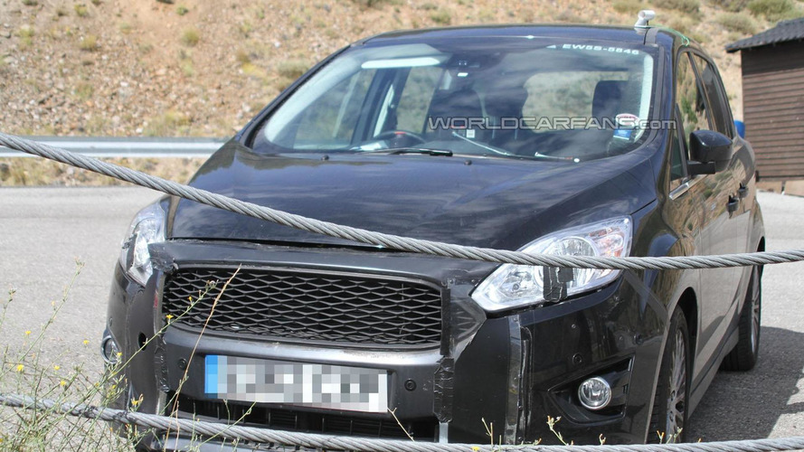 2015 Ford C-Max facelift spied for the first time