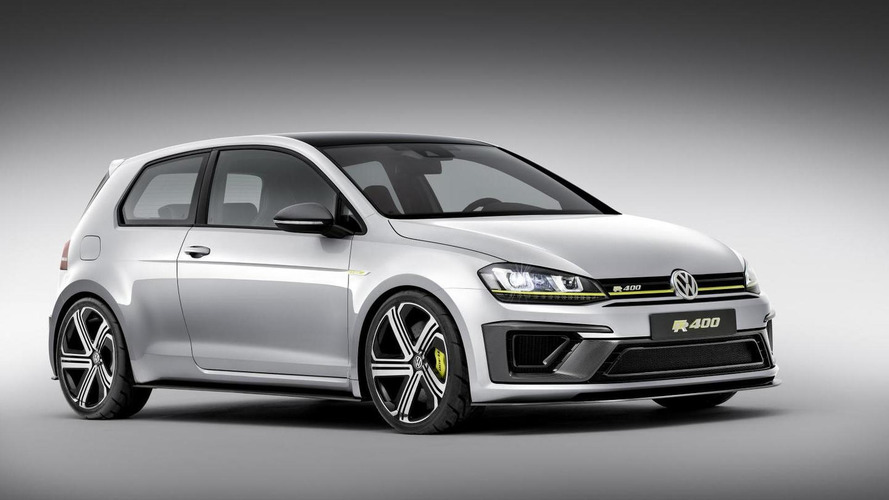 Volkswagen Golf R400 reportedly approved for production, coming late next year