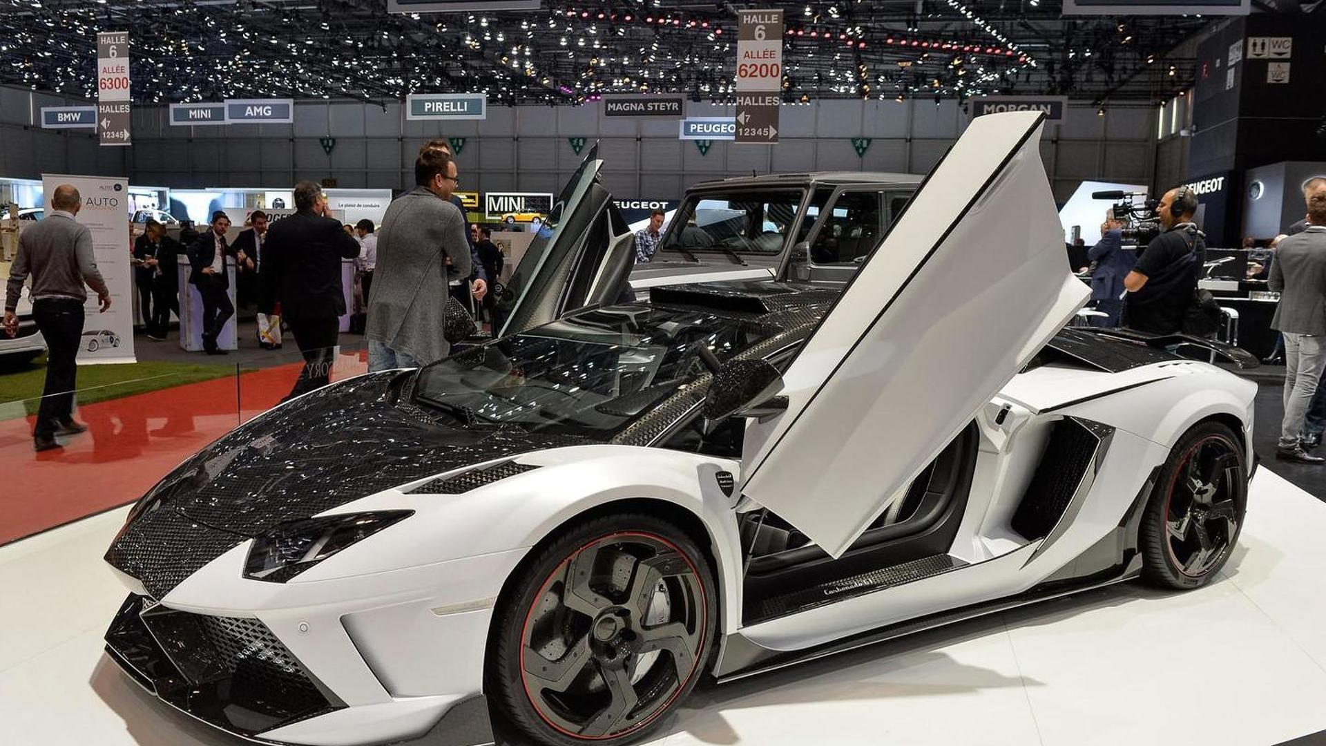 Mansory Carbonado Gt Is A Twin Turbo Lamborghini Aventador With 1600 Hp