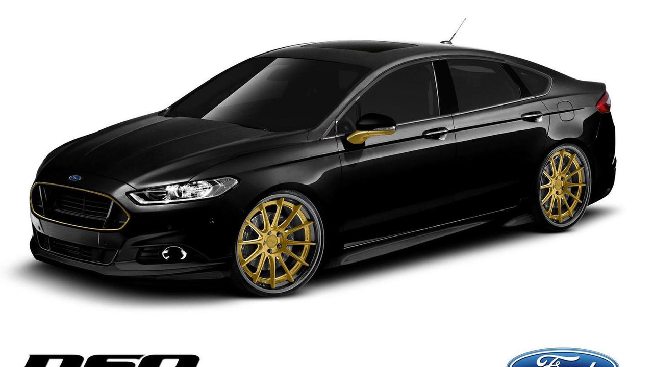 DSO Eyewear Ford Fusion for SEMA 22.10.2013
