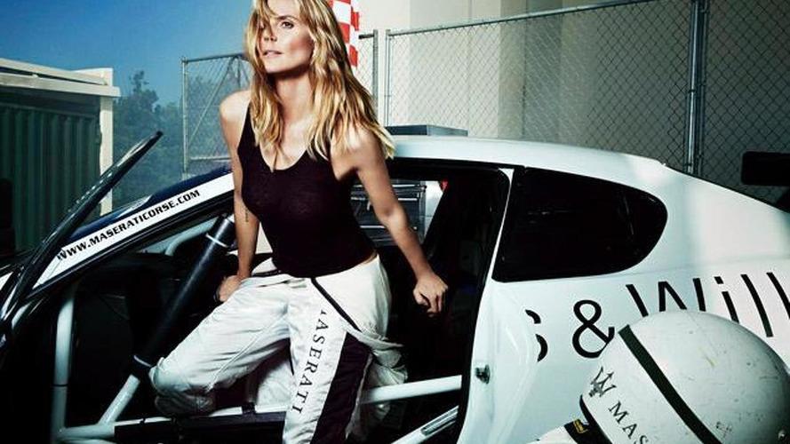 Supermodel Heidi Klum promotes Maserati North American lineup
