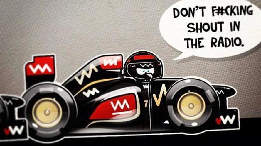 Raikkonen won't give up fights with Grosjean - manager