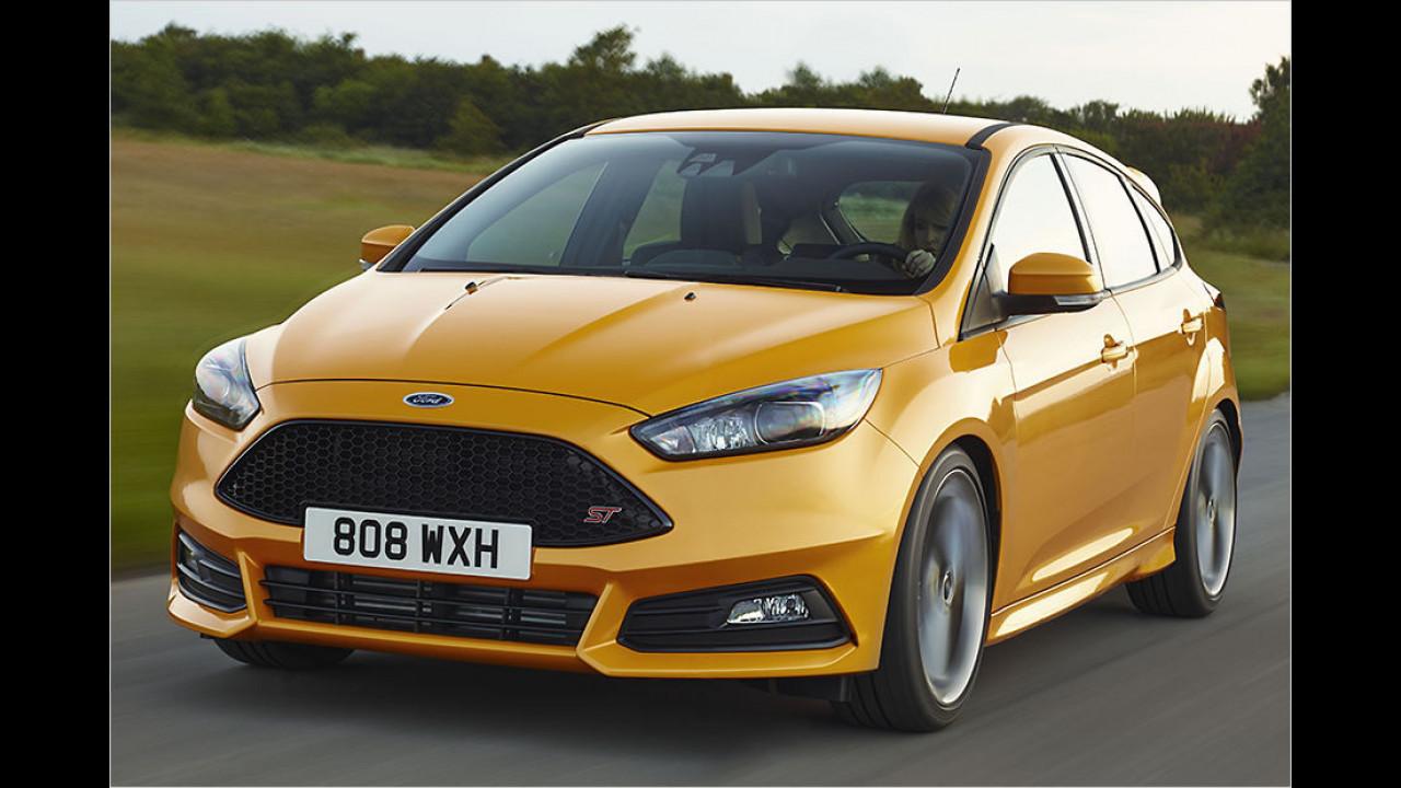6. Platz: Ford Focus ST