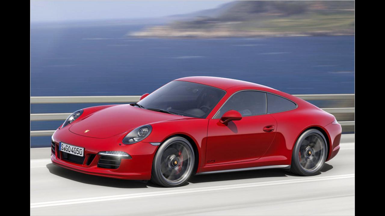 Sportwagen, Platz 1: Porsche 911 (2.043 Stück)
