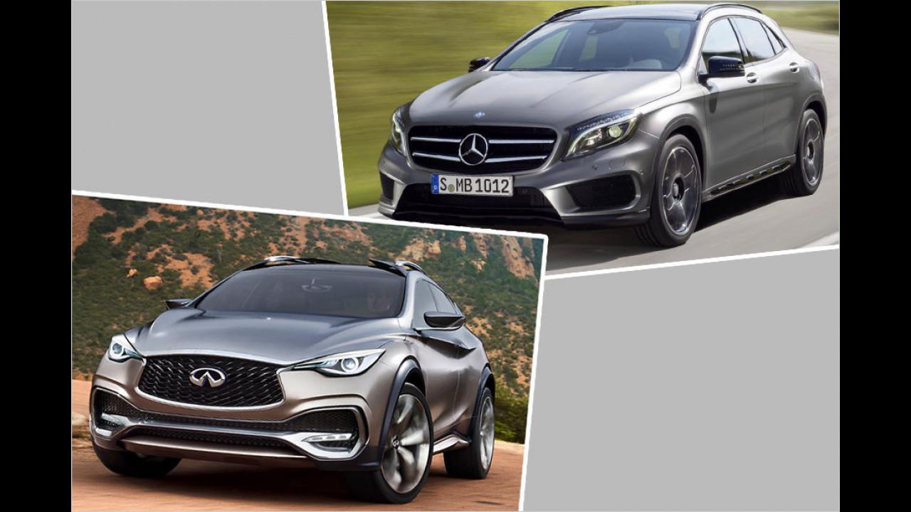 Mercedes GLA / Infiniti QX30