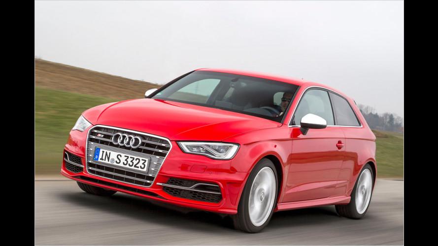 Audi S3 (2013) im Test: Wie fühlen sich 300 PS an?