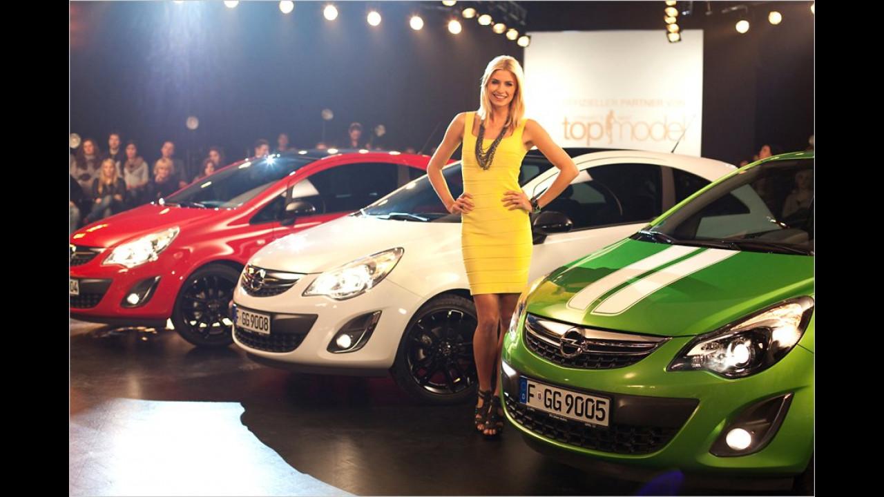 Lena Gerke: Opel Corsa Color Line