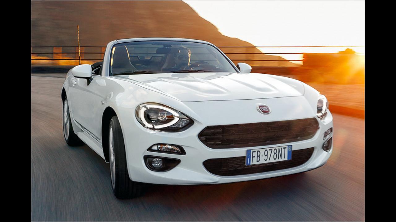 Fiat: 124 Spider? Oder Abarth 124 Spider?