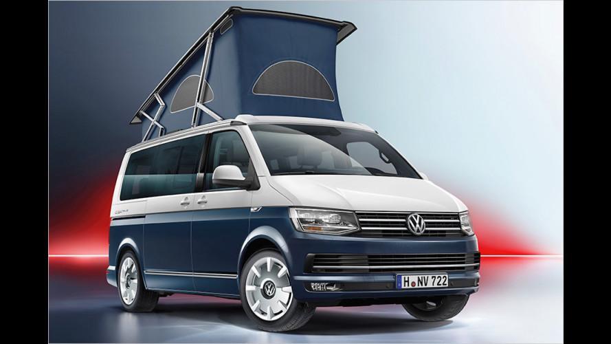 Die VW-Neuheiten auf dem Caravan Salon 2016