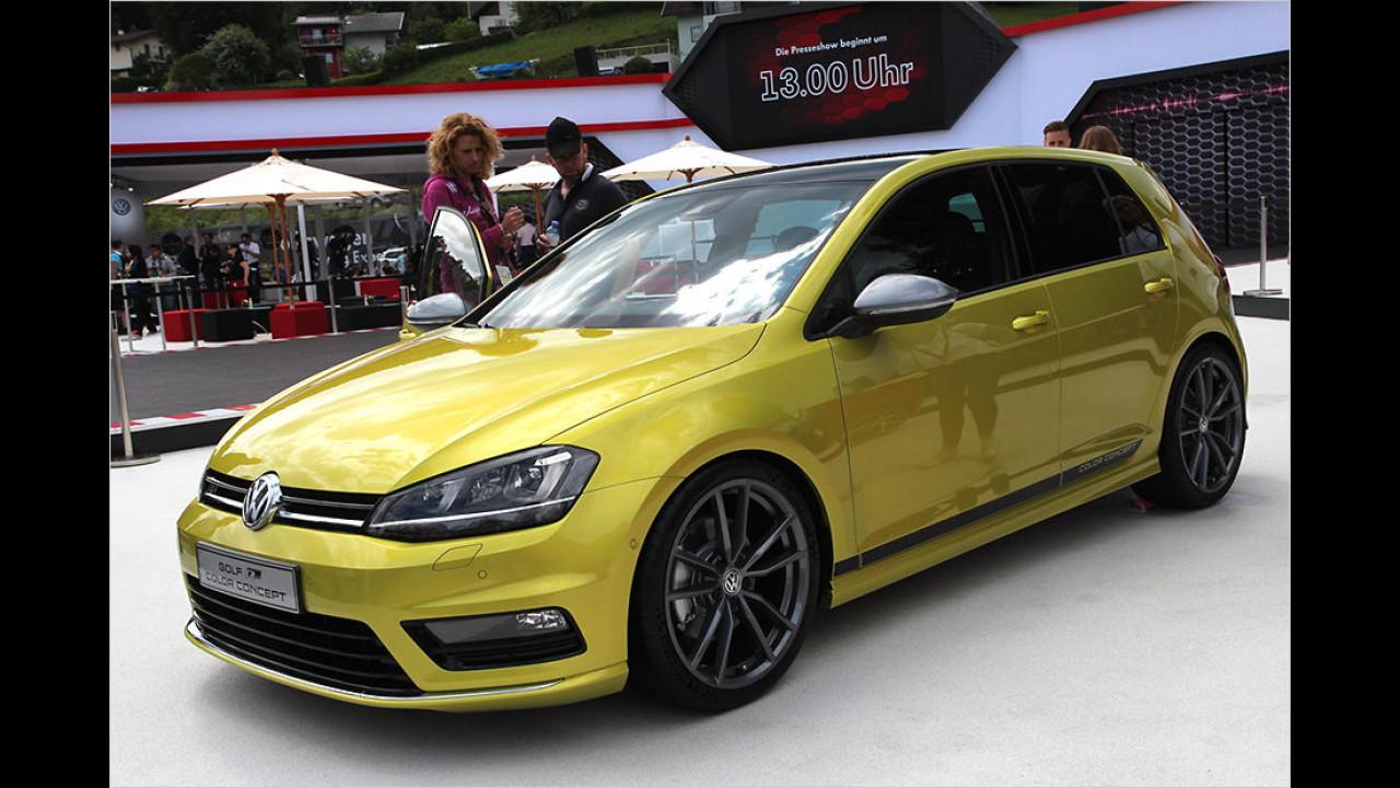 VW Golf R Color Concept