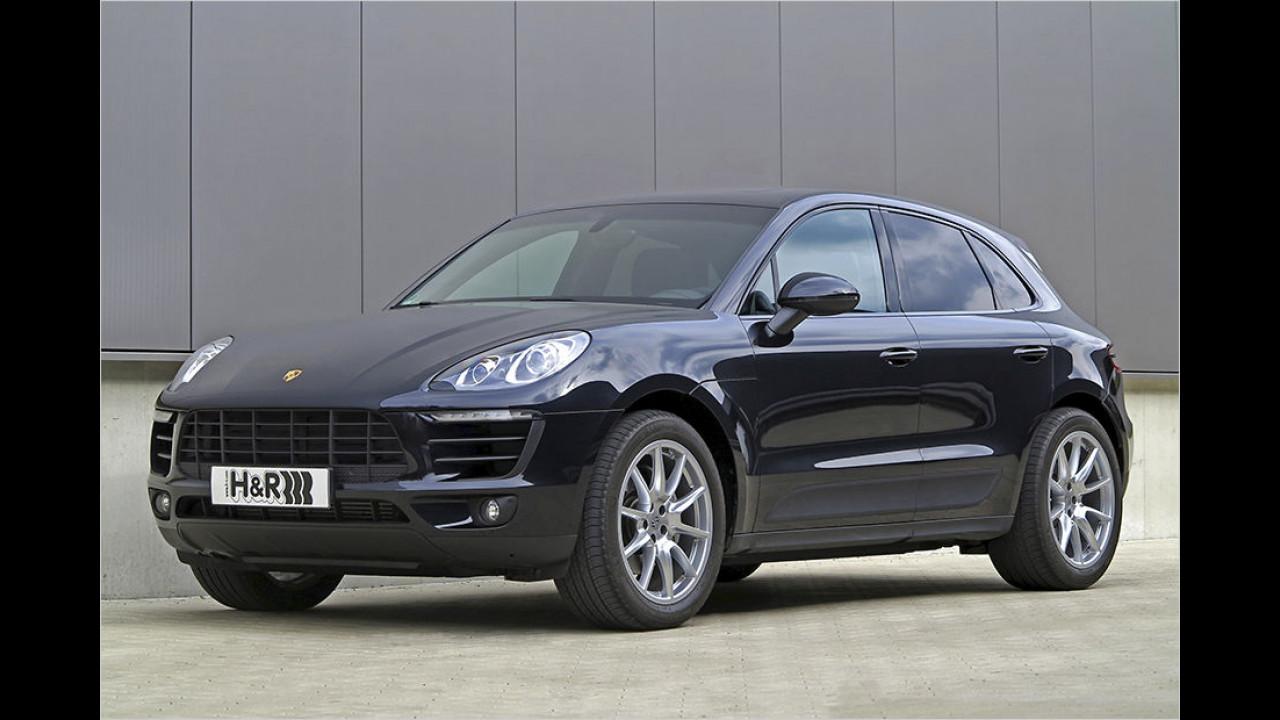 Porsche Macan S Diesel: Noch tiefer