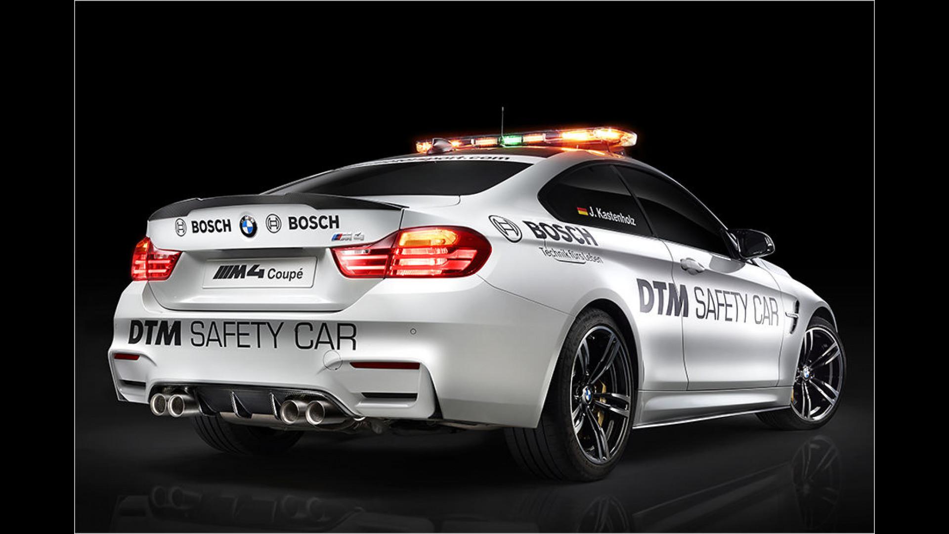 BMW schickt acht plus einen M4 zur DTM