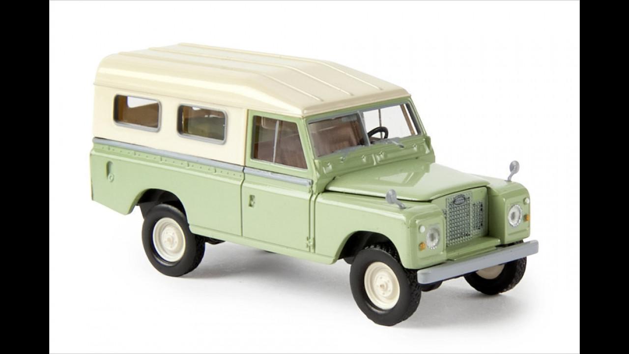 Sieger 1:87 Pkw Klassik: Land Rover 109